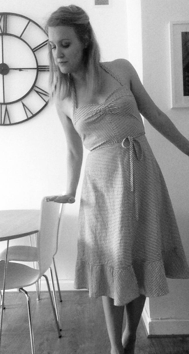 vintage beach dress