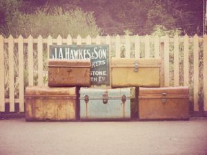 Vintage luggage - mylusciouslife.com - luscious travel luggage3