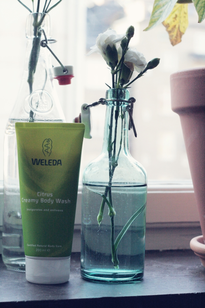 weleda body wash